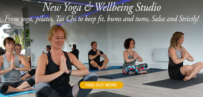 Wollaston Lodge new Ypga and Wellbeing studio